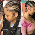 165 Beautiful Hair Braid Styles For Teen Ladies (Goddess Braids for black girls)