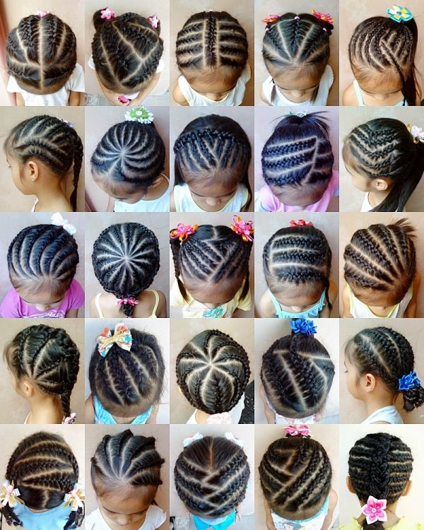 Braided baby gurls: Various Cornrow Hairstyles