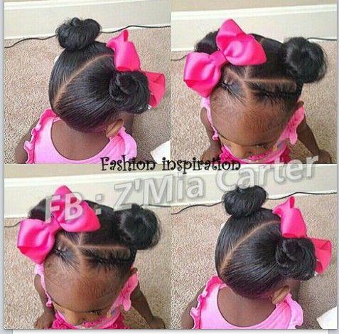 Buns and braids