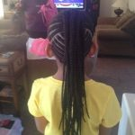 Mohawk Cornrows For Black Girls