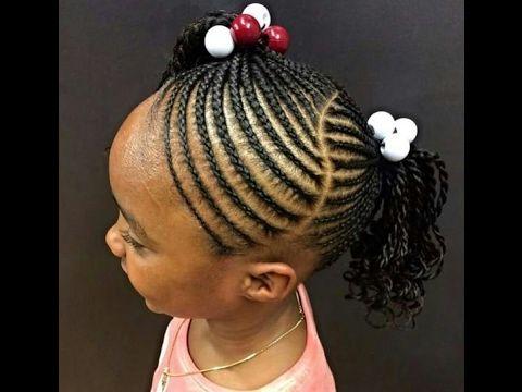 Kids Braids Gallery : Stylish Kids Braids