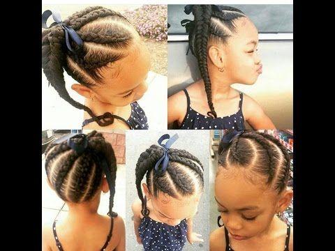 Natural Kids Hairstyles : Children Natural Braids