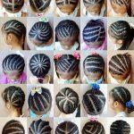 Various Cornrow Hairstyles For Black Girls