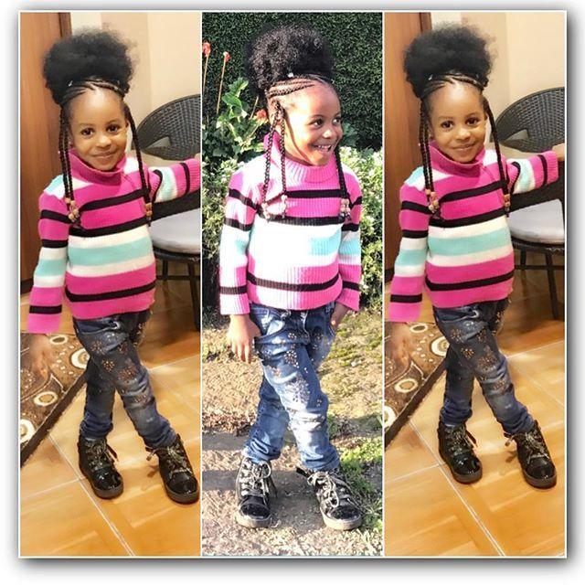 Childish Hairstyle For Trendy Black Girls