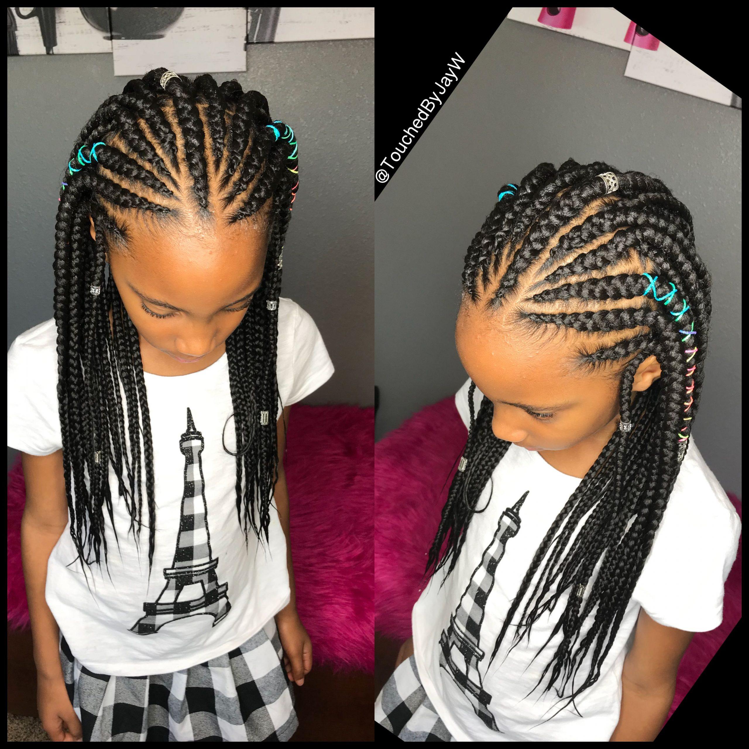 Childish Hairstyle For Trendy Black Girls - Braids ...