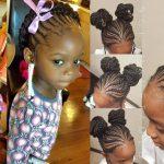 50 Beautiful Ghana Weaving Hairstyles For Kids