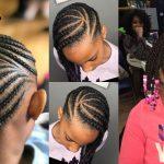 58 Photo: The Most Creative Hair Braiding Models For Little Black Girls